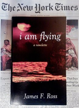 I Am Flying ... as seen on the cover of The New York Times